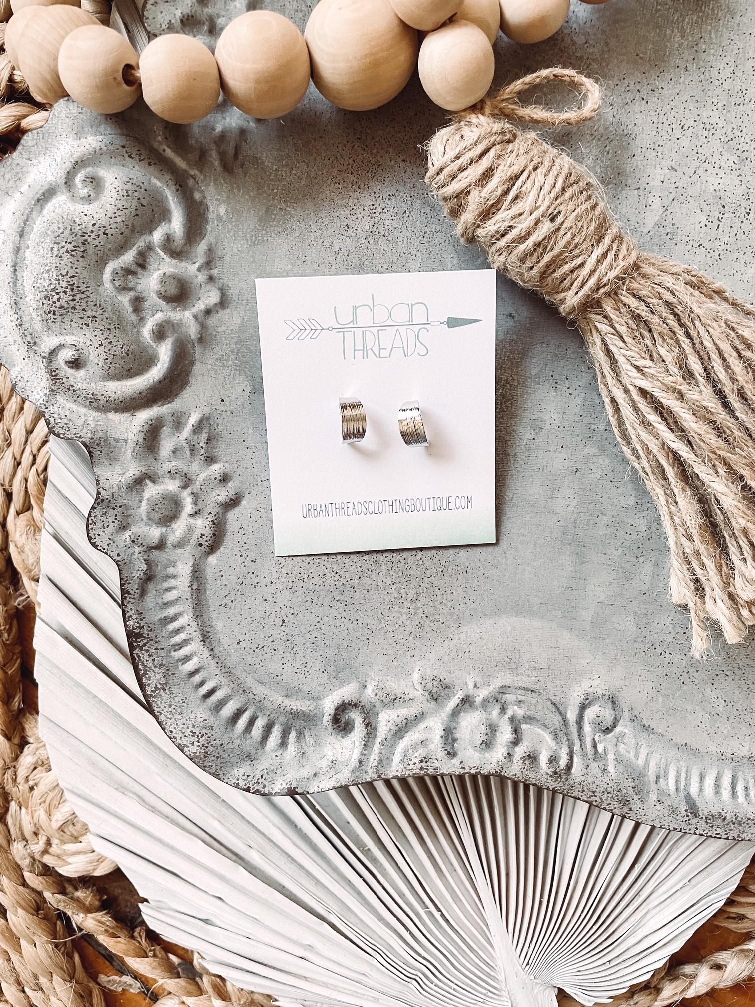 Laney Silver Earrings
