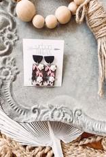 Anna Clay Floral Earrings
