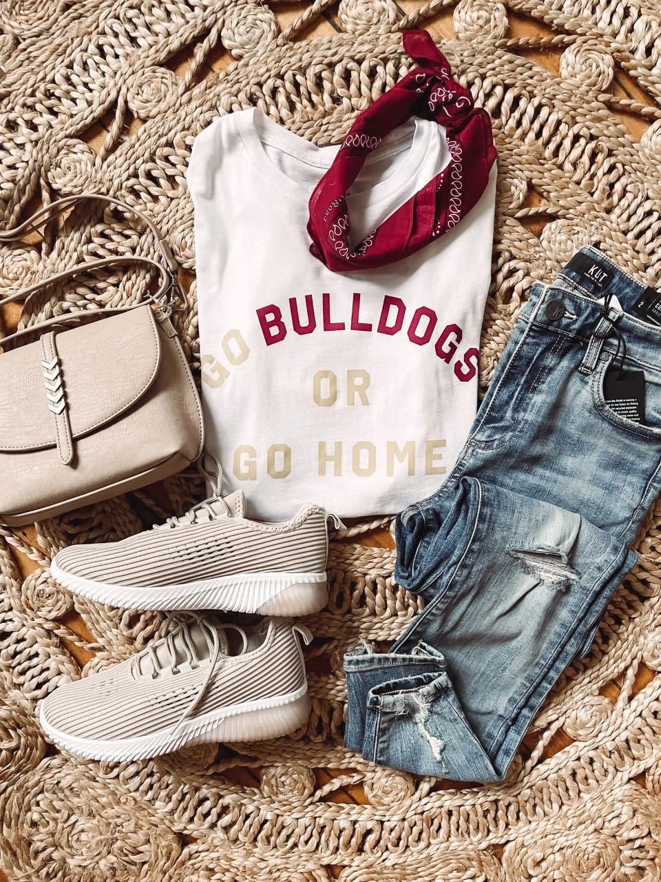 Go Bulldogs Or Go Home Tee