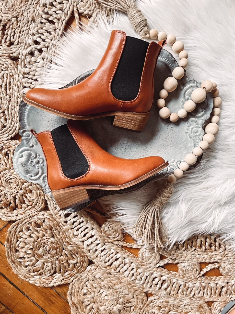 Chase Brown Booties
