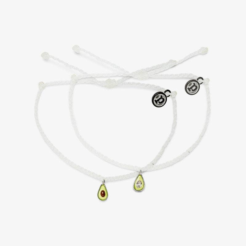 PuraVida BFF Avocado Bracelet Set