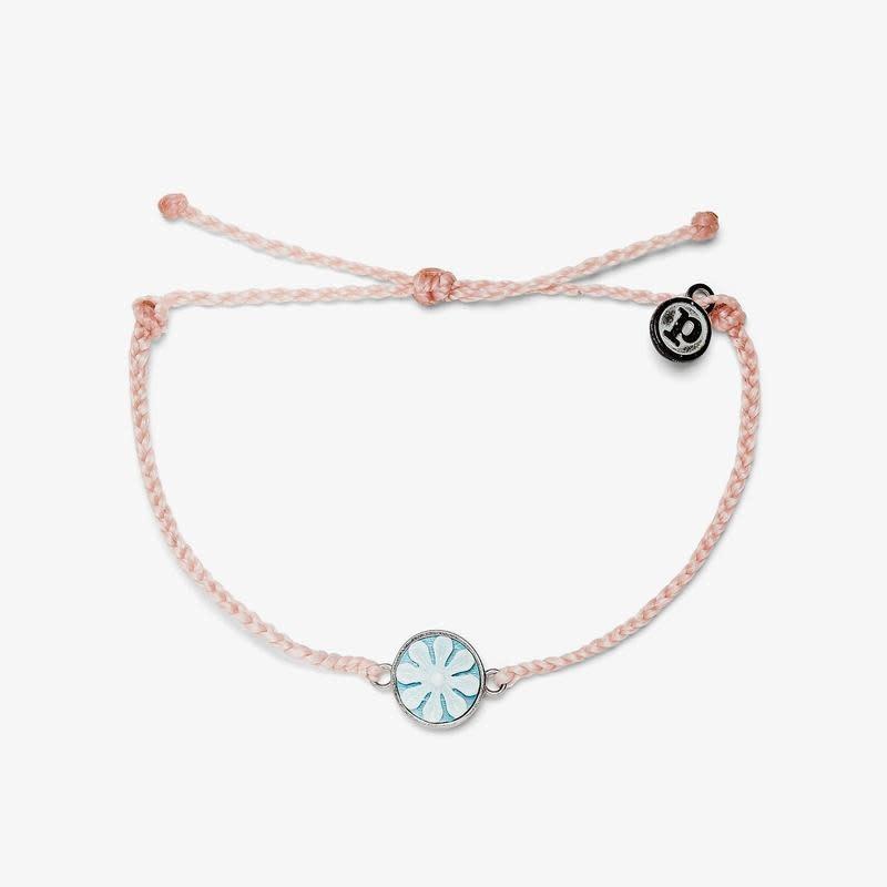 PuraVida Baby Pink Cameo Bracelet