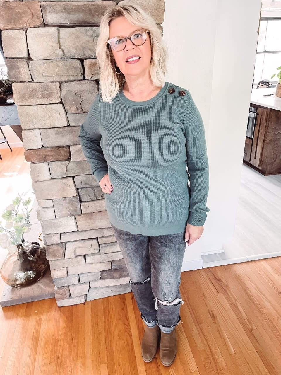 Haven Jade Button Thermal
