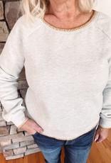 Indy Gray Fleece Sweatshirt