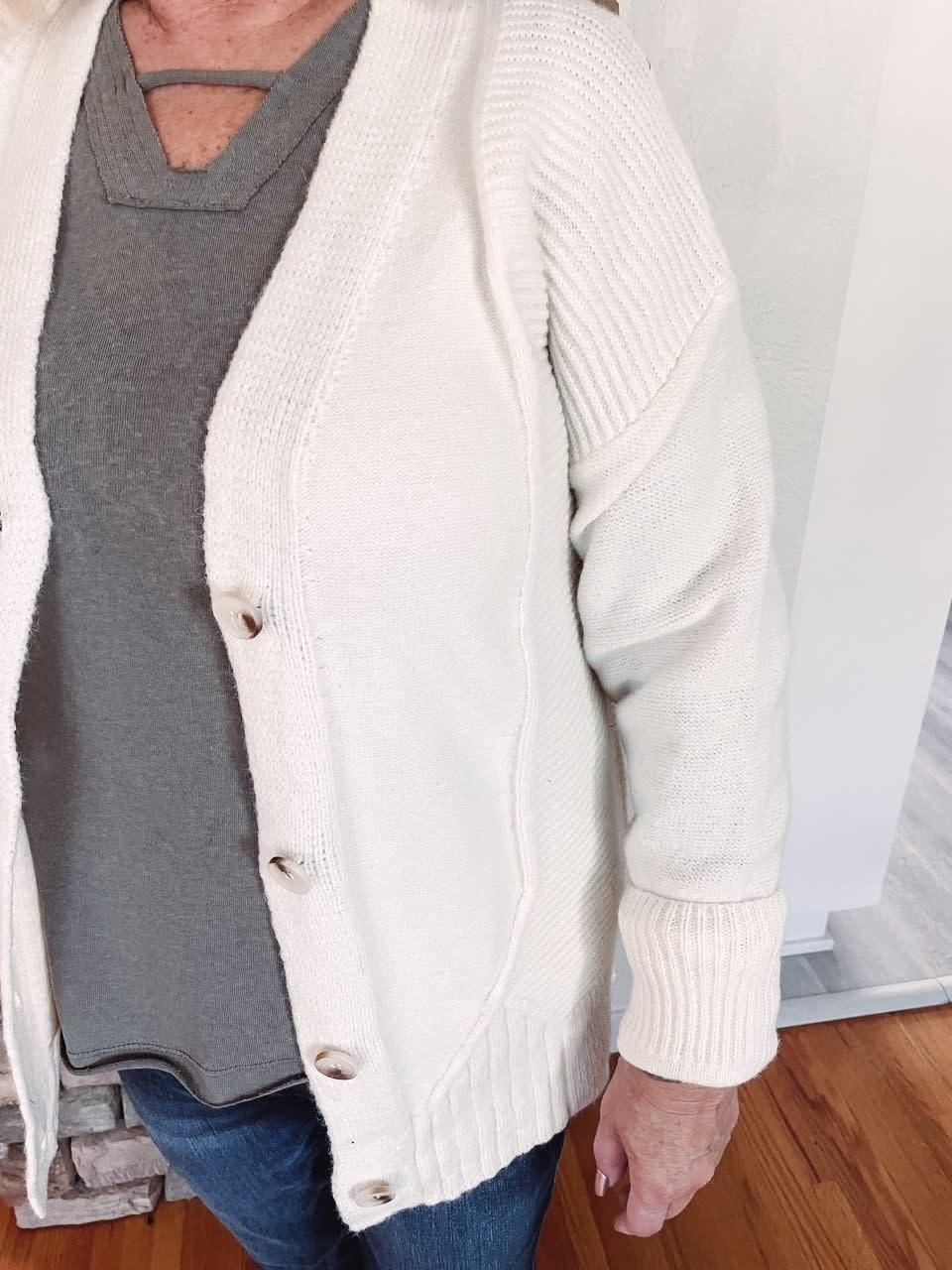 Blair Cream Cardigan