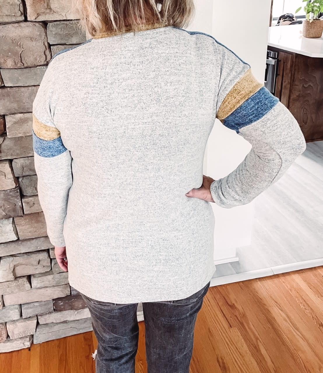 Ellie Color Block Long Sleeve
