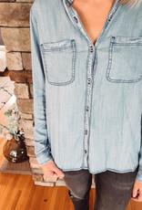 Taylor Denim Button Up
