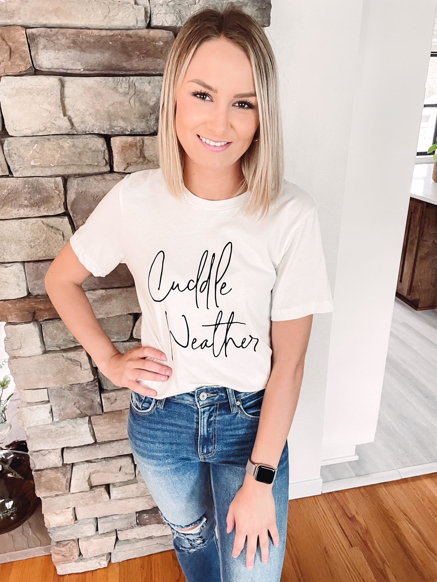 Cuddle Weather Graphic Tee