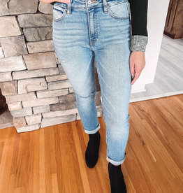 Wendy High Rise Slim Straight Jeans