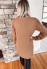 Hazel Pearl Sweater Dress