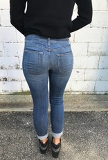 Distressed Stretchy Jeans
