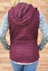Burgundy Utility Vest