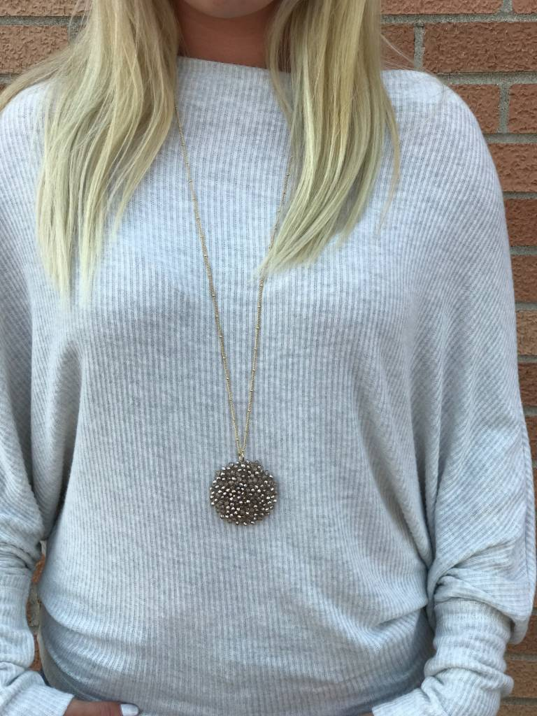 Oatmeal One Size Sweater