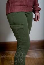 Rustic Olive Pants