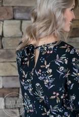 Rustic Floral Dress