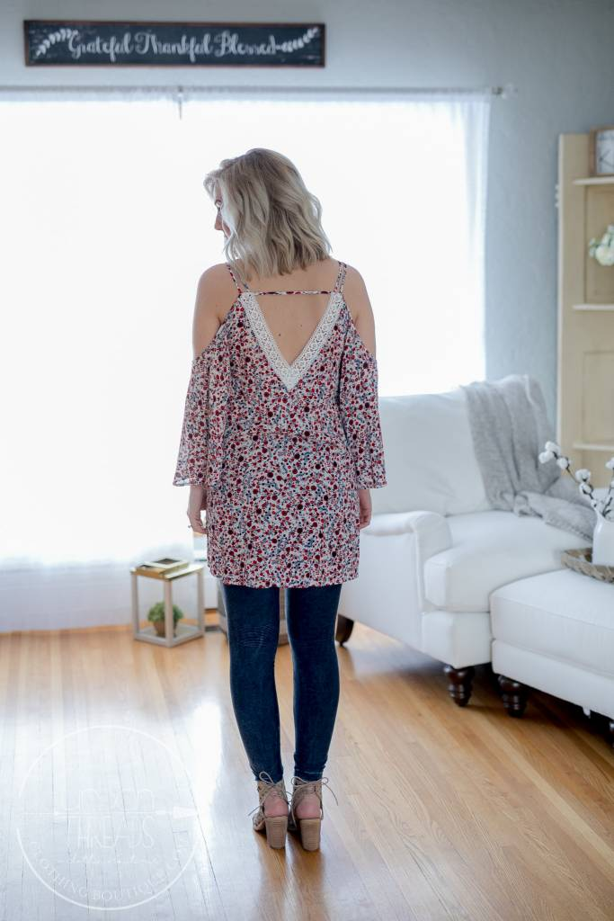 Country Floral Dress