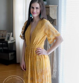 Chloe Yellow Dress
