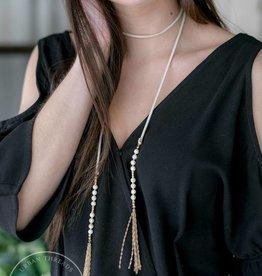 Claire Wrap Necklace