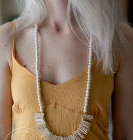 Miami Wooden Necklace