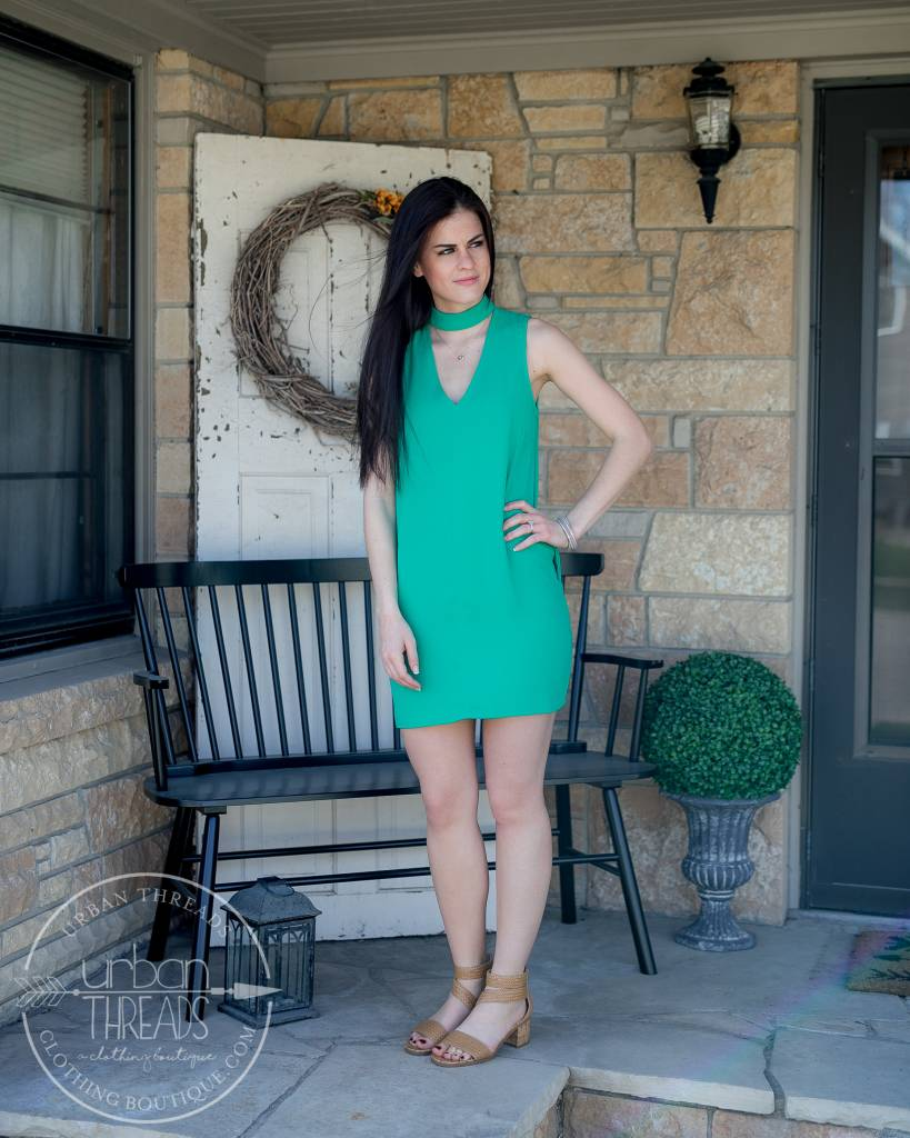 Pepper Green Dress