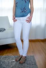 White Mia Toothpick Skinny Jeans