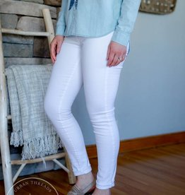 KUT White Mia Toothpick Skinny Jeans