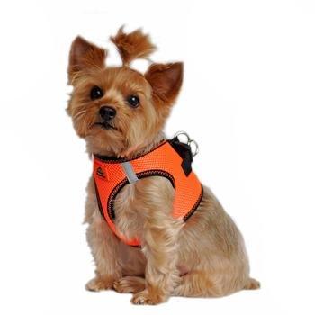 Doggie Design DOGGIE DESIGN AMERICAN RIVER HARNESS IRIDESCENT ORANGE