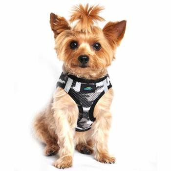 Doggie Design Doggie Design American River Choke Free Harness Camouflage Collection Gray Camo