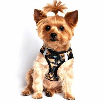 Doggie Design Doggie Design American River Choke Free Harness Camouflage Collection Brown Camo