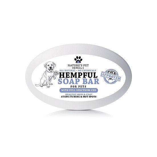 Nature's Pet Herbals Nature's Pet Herbals Hempful Soap Bar with Full Spectrum CBD