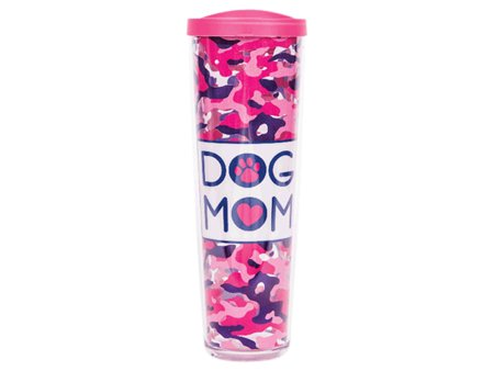 Dog Speak Dog Speak 24oz Thermal Tumbler Dog Mom