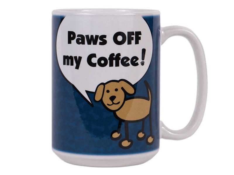 DOG SPEAK DOG SPEAK 15OZ BIG MUG PAWS OFF MY COFFEE