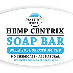 Nature's Herbals Nature's Herbals Hemp Centrix Soap Bar with Full spectrum CBD