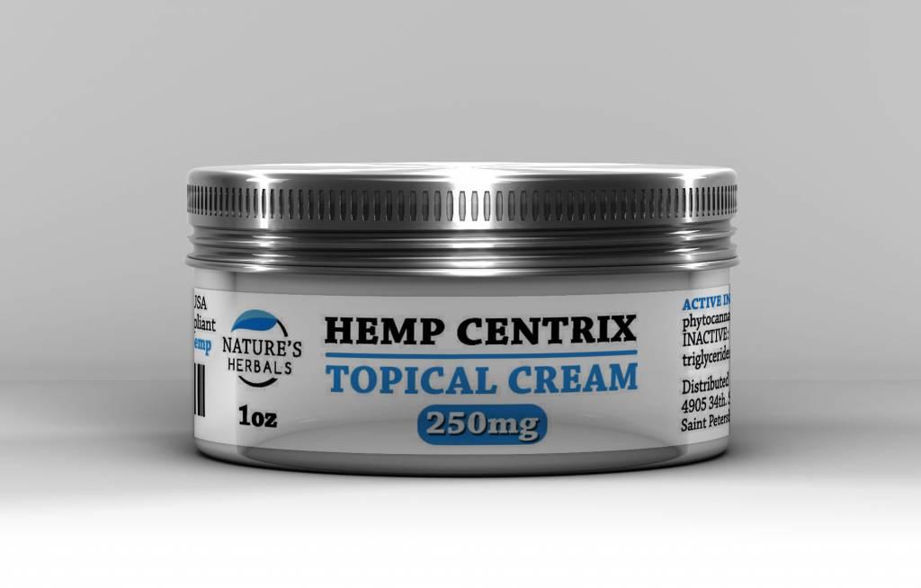 Nature's Herbals Nature's Herbals Hemp Centrix CBD Topical Cream
