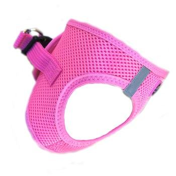 Doggie Design Doggie Design American River Solid Ultra Choke Free Harness Candy Pink