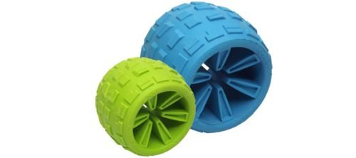 Cycle Dog Cycle Dog Ecolast High Roller Treat Ball Blue