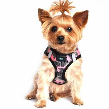 Doggie Design Doggie Design American River Choke Free Harness Camouflage Collection Pink Camo