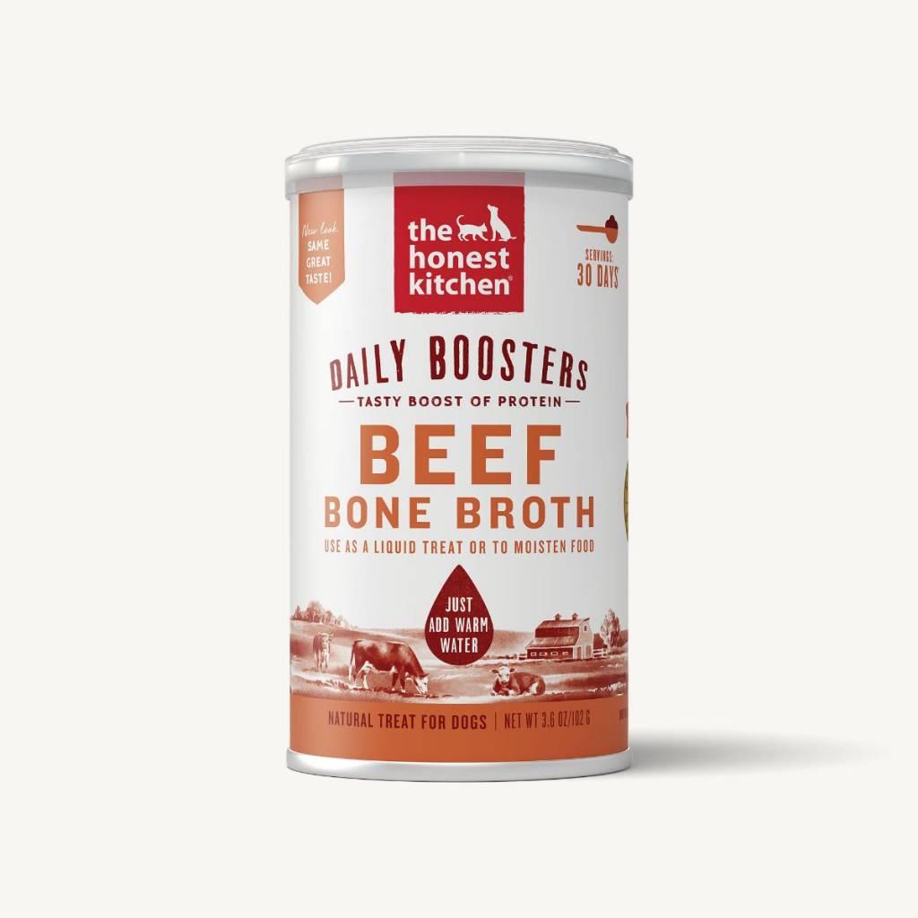 The Honest Kitchen Honest Kitchen Daily Boosters Beef Bone Broth 3.6oz