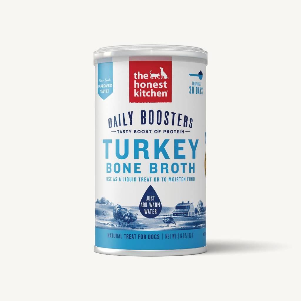 The Honest Kitchen Honest Kitchen Daily Boosters Turkey Bone Broth 3.6oz