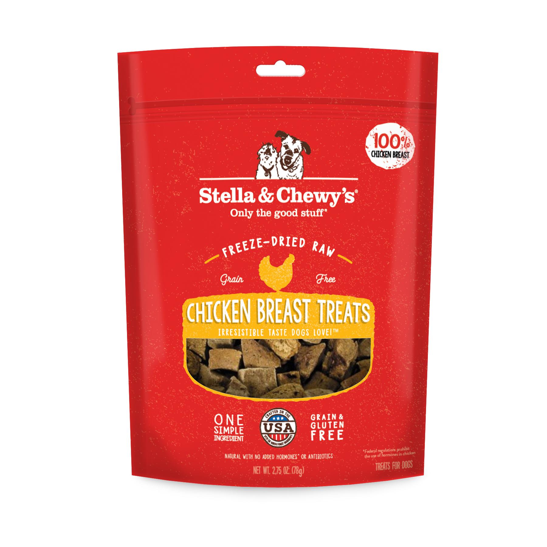 Stella & Chewys Stella & Chewys Freeze Dried Raw Chicken Breast Treats 2.75oz