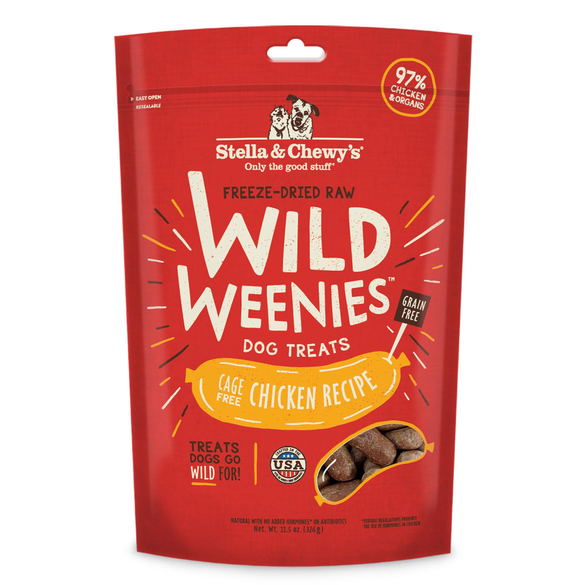 Stella & Chewys Stella & Chewys Wild Weenies Chicken Recipe