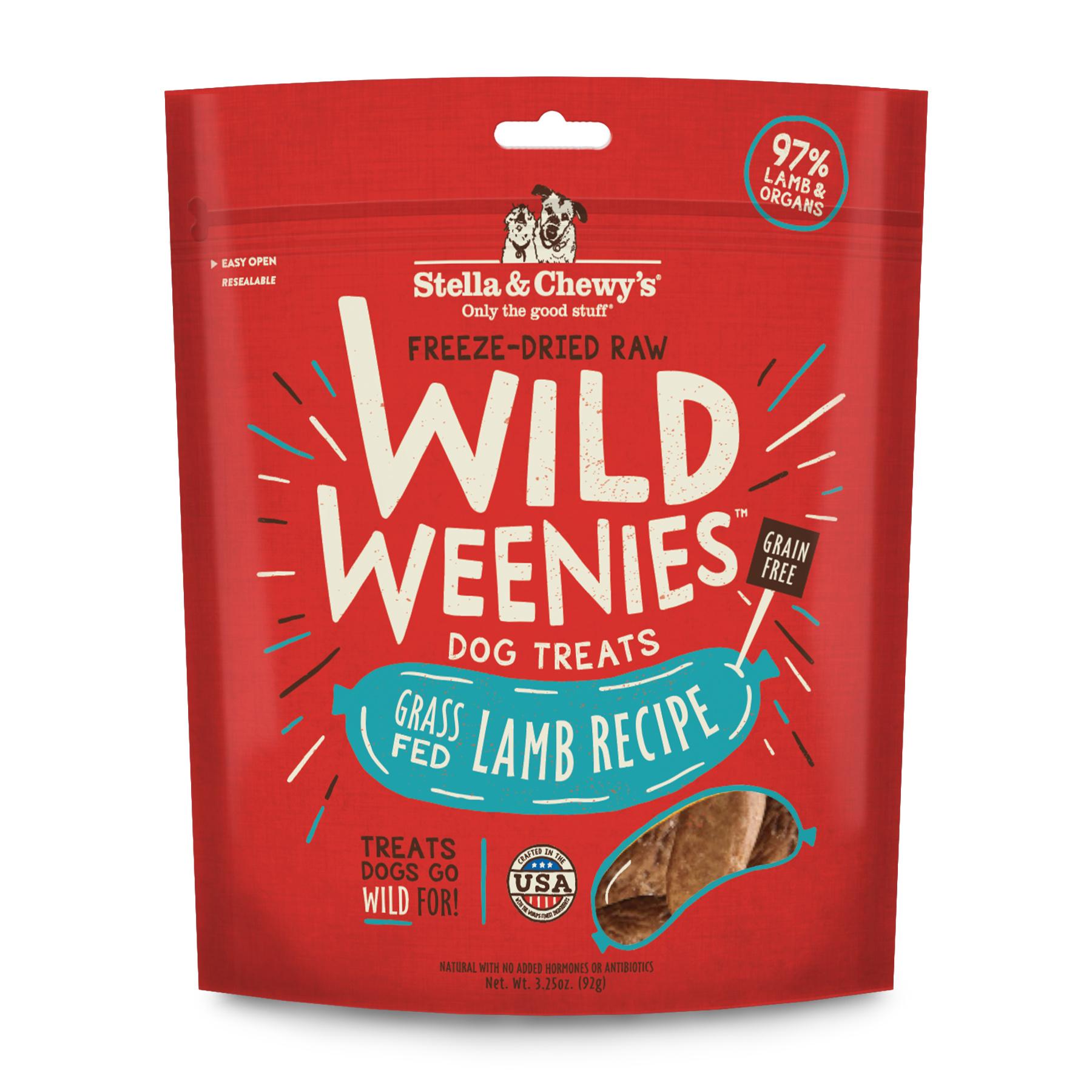 Stella & Chewys Stella & Chewys Wild Weenies Lamb Recipe 3.25oz