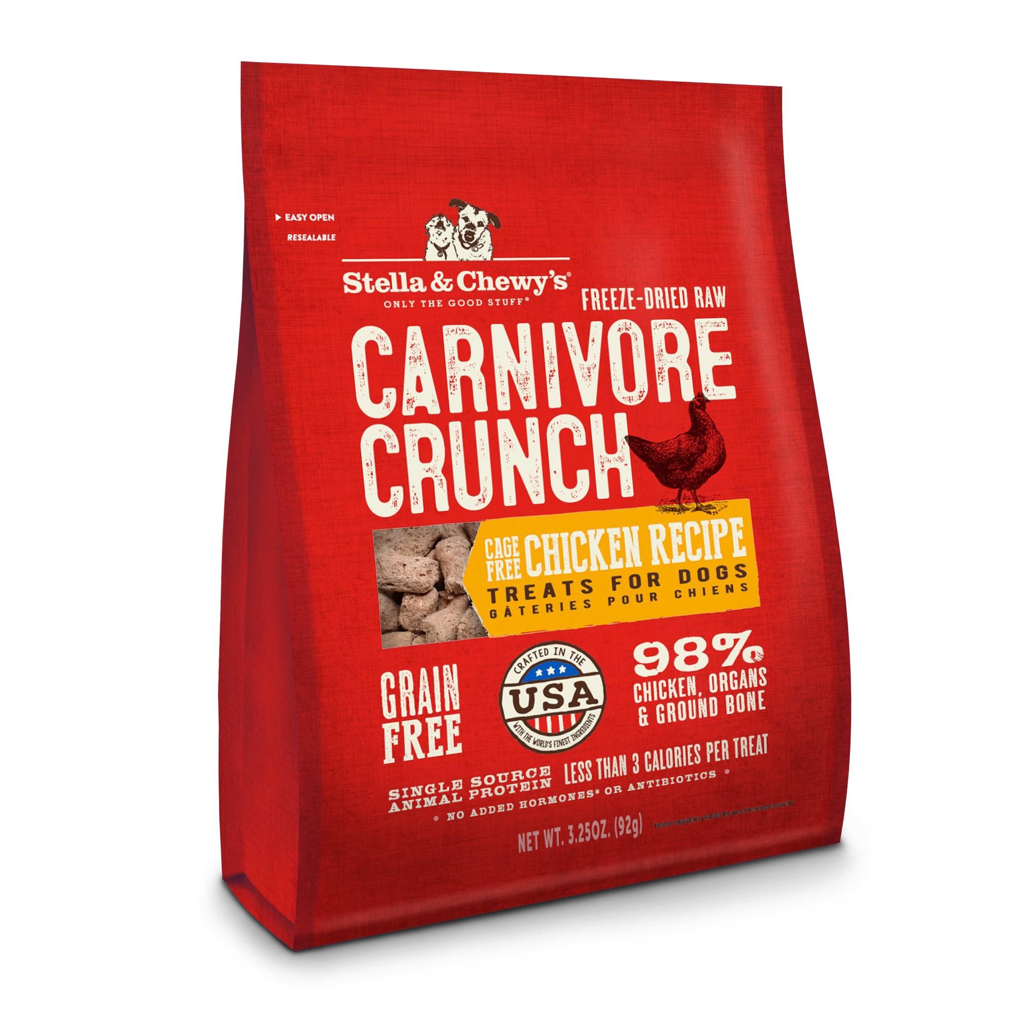 Stella & Chewys Stella & Chewys Chicken Carnivore Crunch 3.25oz