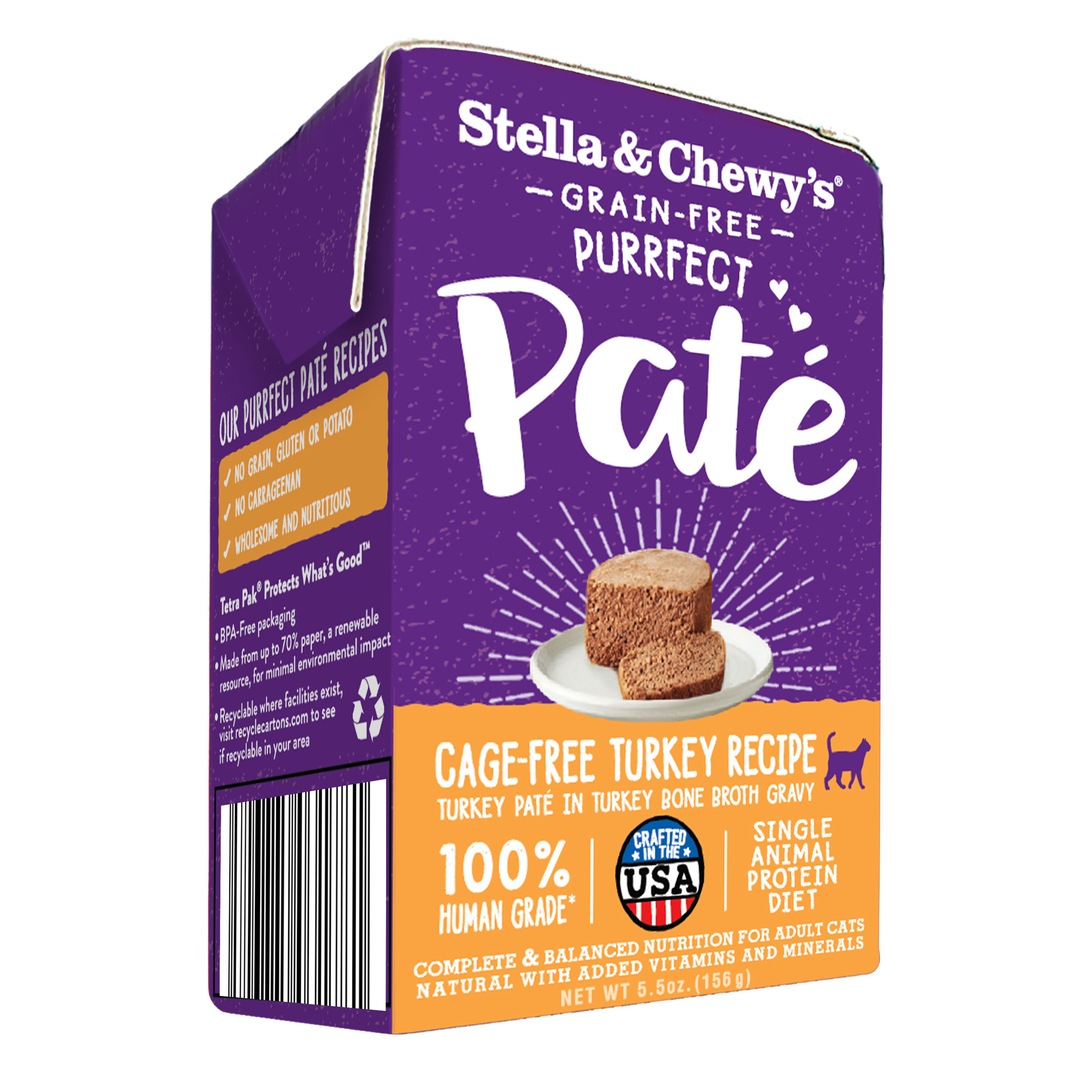 Stella & Chewys Stella & Chewys Purrfect Pate Cage Free Turkey Recipe