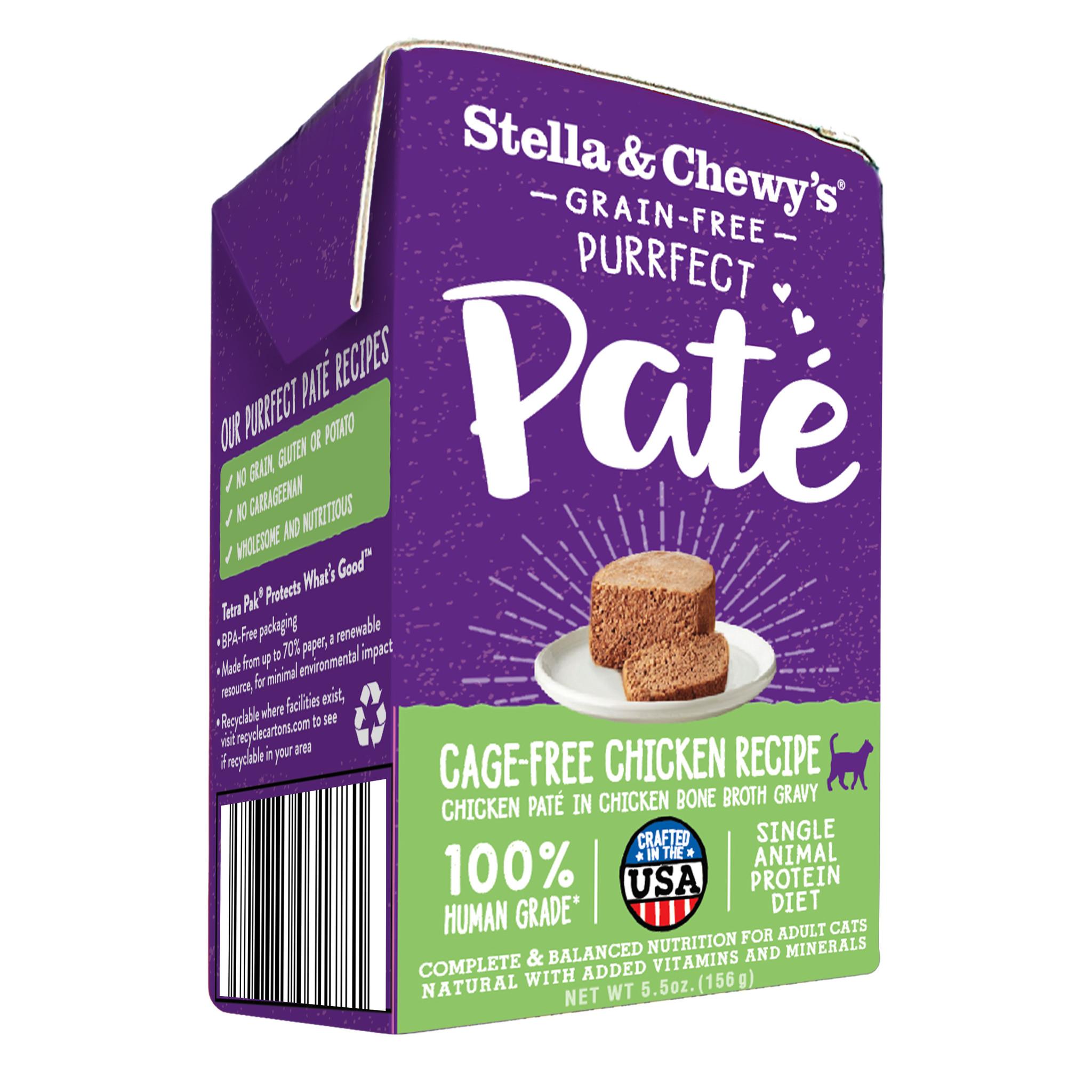 Stella & Chewys Stella & Chewys Purrfect Pate Cage Free Chicken Recipe