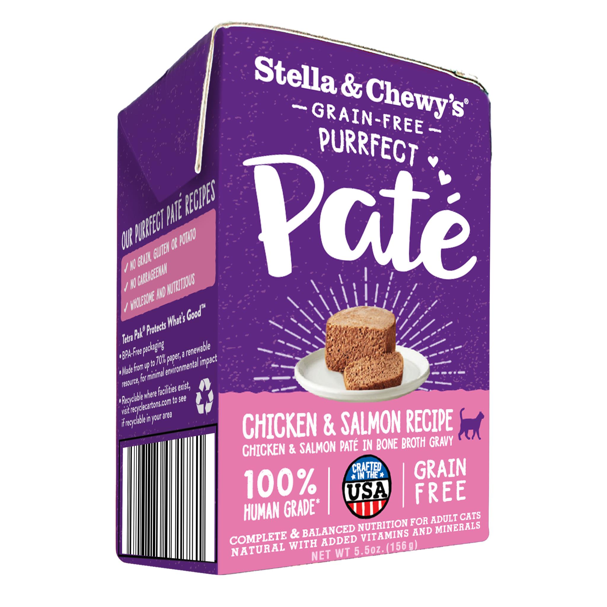 Stella & Chewys Stella & Chewys Purrfect Pate Chicken & Salmon Medley