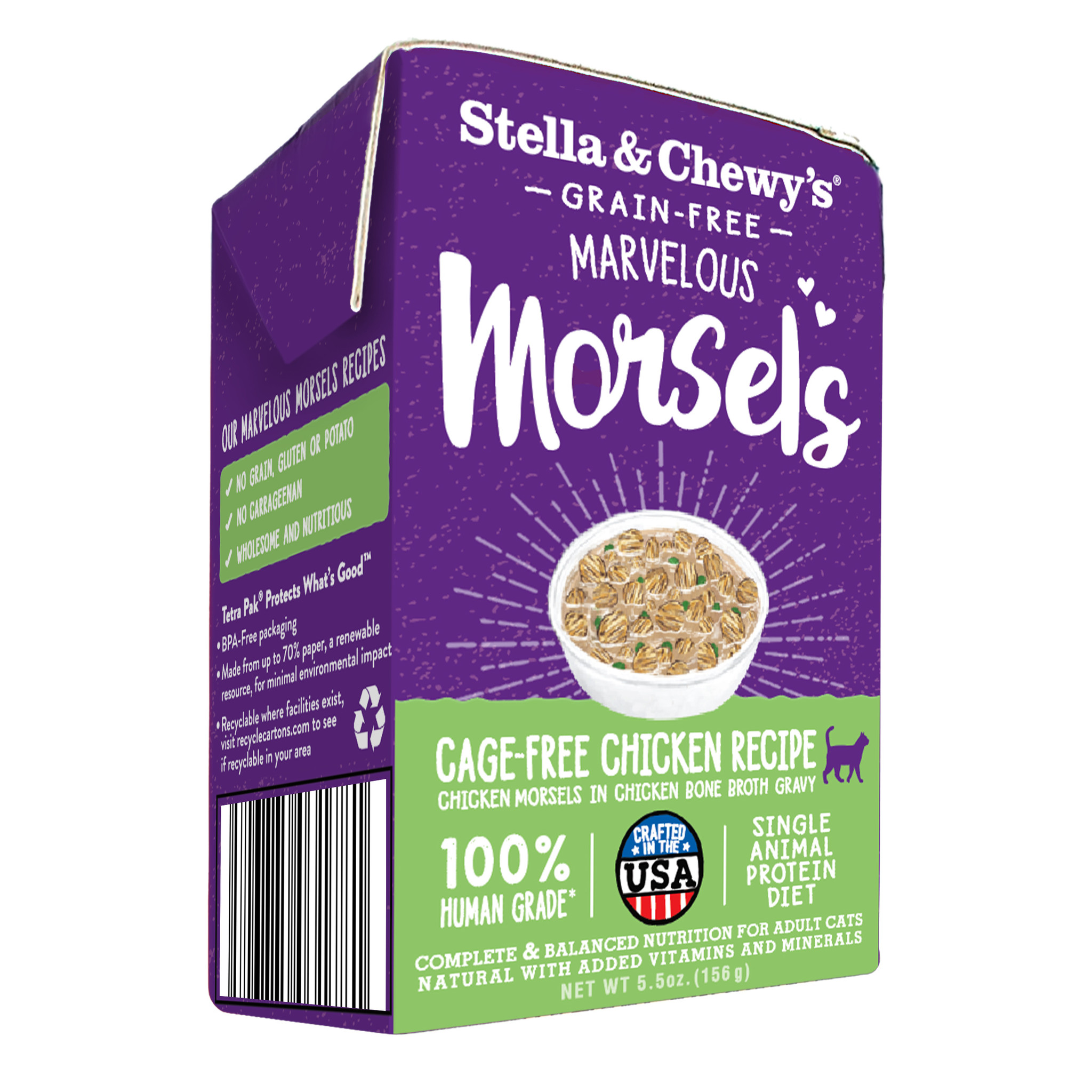 Stella & Chewys Stella & Chewys Marvelous Morsels Cage Free Chicken Recipe