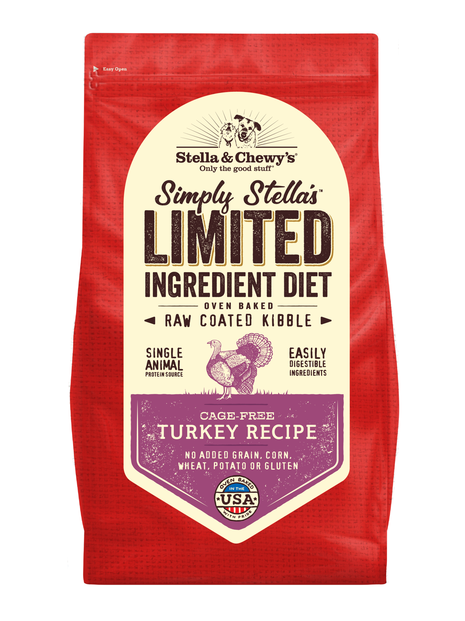 Stella & Chewys Stella & Chewys Simply Stella's Limited Ingredient Cage Free Turkey Recipe
