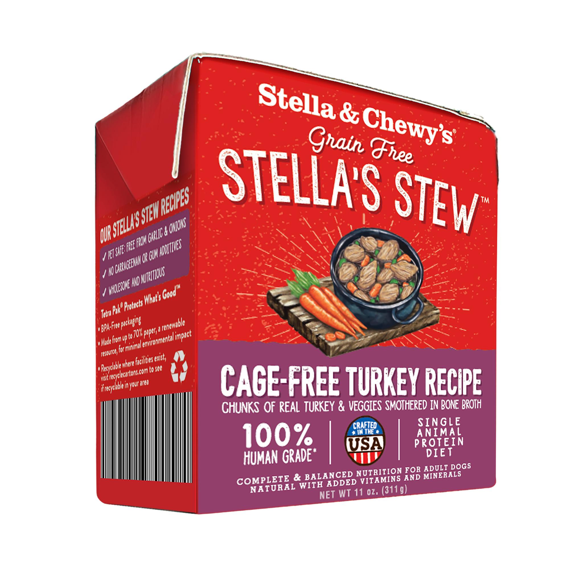 Stella & Chewys Stella & Chewys Grain Free Stella's Stew Cage Free Turkey