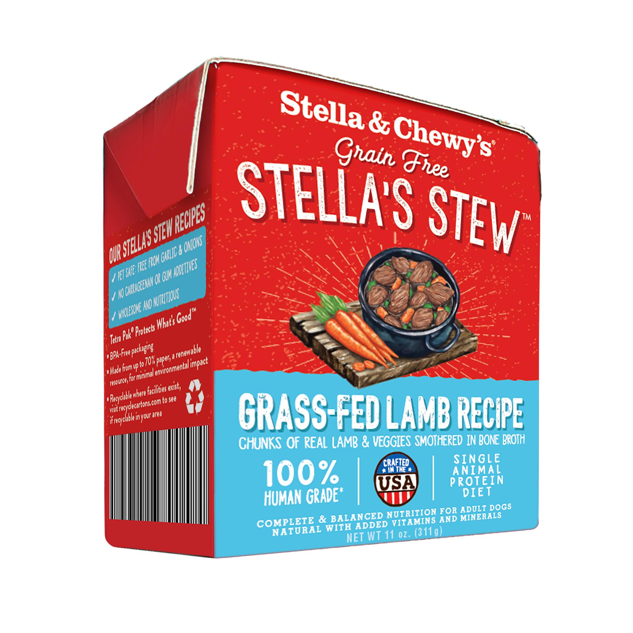 Stella & Chewys Stella & Chewys Grain Free Stella's Stew Grass Fed Lamb